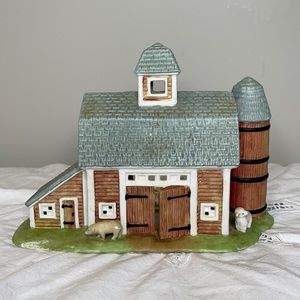 PartyLite Country Barn yea light candle holder